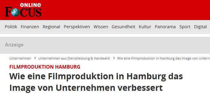 Wie eine Filmproduktion in Hamburg das Image von Unternehmen verbessert